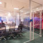 Adiko banka Podgorica MG50 staklene kancelarijske pregrade 1