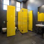 DIS Poslovna zgrada Krnjevo Staklene sanitarne kabine 2