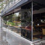 PARCO restoran Beograd MGSW HSW stakleni klizni zidovi 1