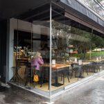 PARCO restoran Beograd MGSW HSW stakleni klizni zidovi 2